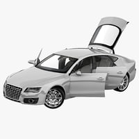Audi A7 2013 Rigged
