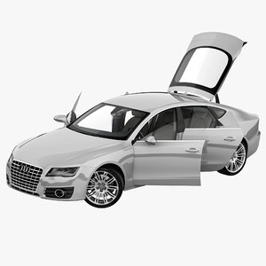 audi a7 2013 rigged car max