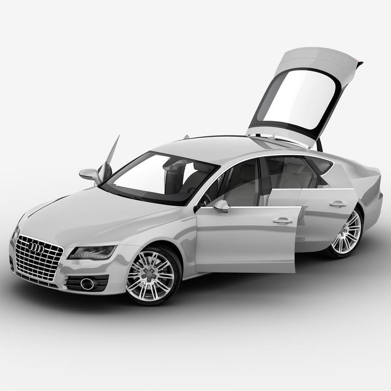 audi a7 2013 rigged car max
