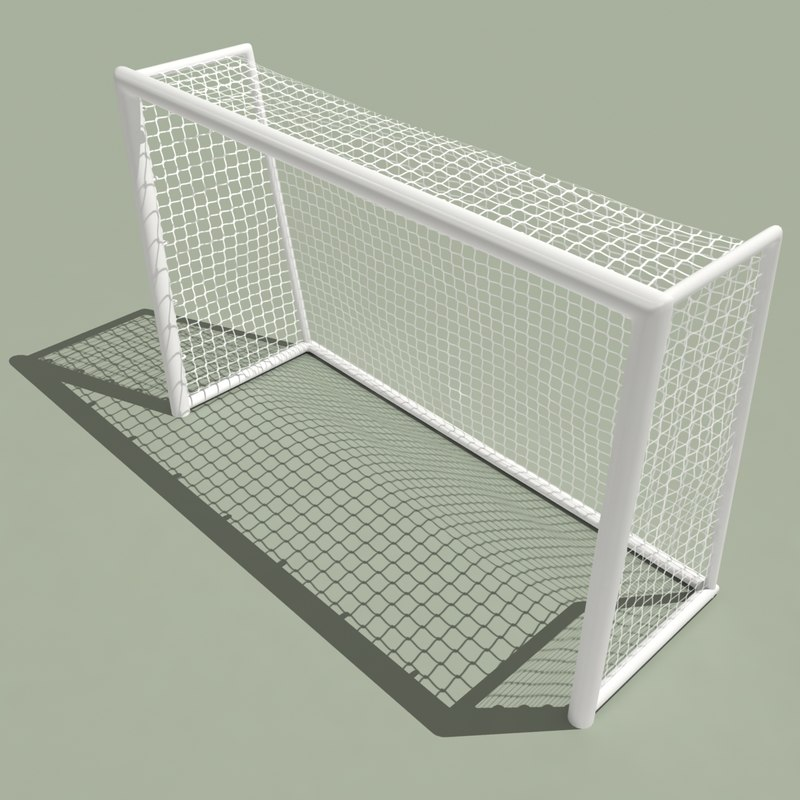 3d futsal goal