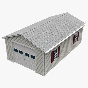 3d garage v4 model
