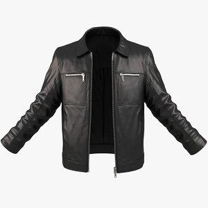 3d realistic male jacket