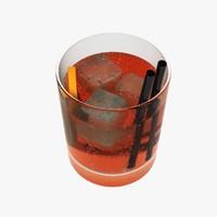 3d model cocktail