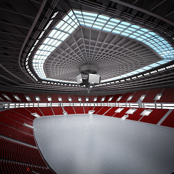 sports arena 3d max