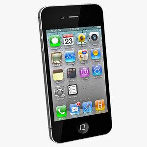 3d iphone 4s