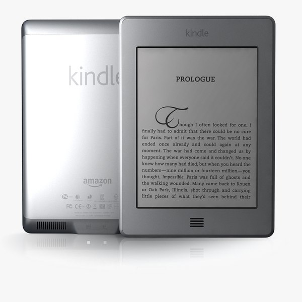 3d kindle touch model