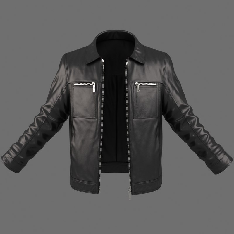 3d realistic male jacket