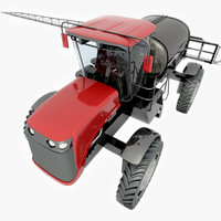 3d model of agricultural sx275 self-propelled sprayer