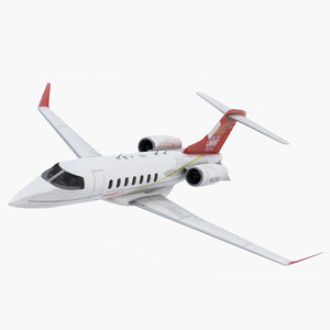 bombardier learjet 85 airplane 3d model
