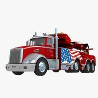 wrecker truck crane lw