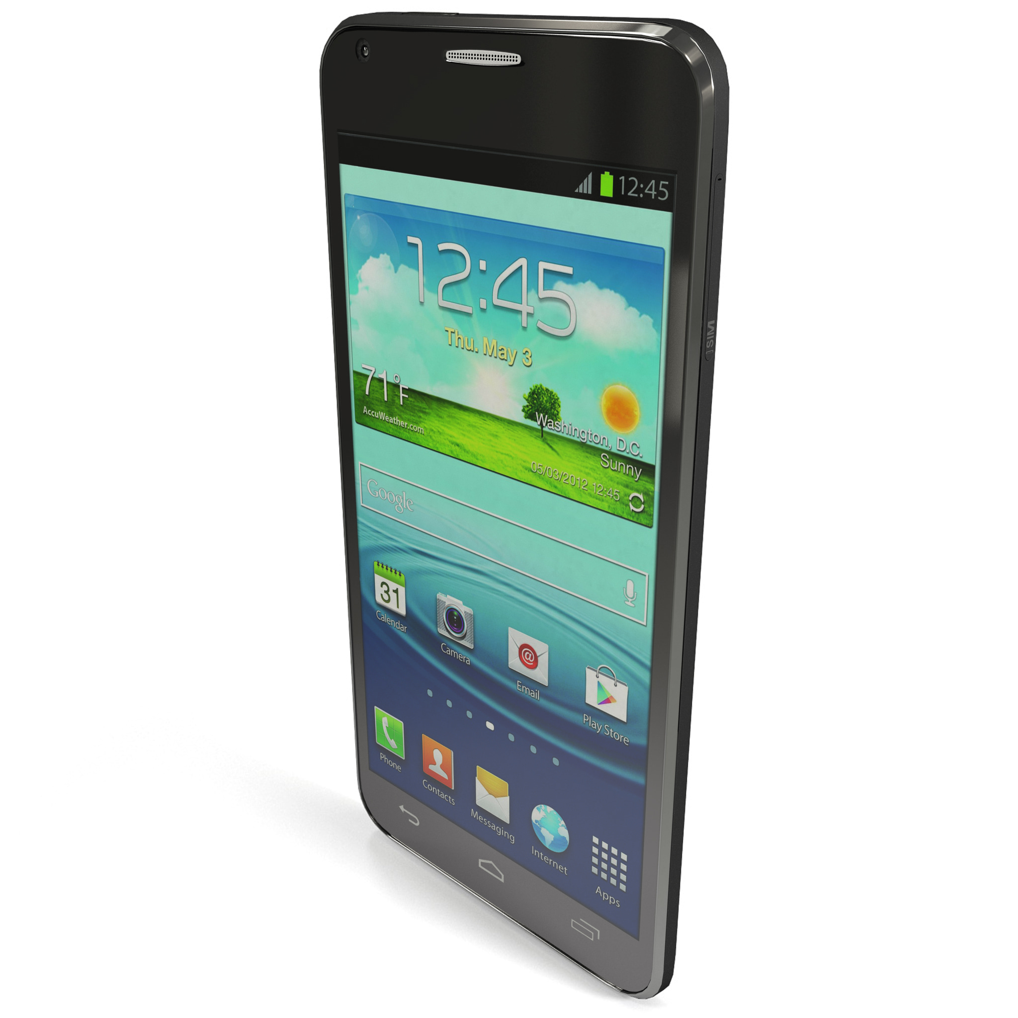 3d model alcatel touch idol ultra