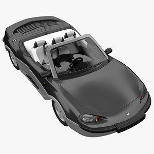 rigged gibbs aquada car 3d max