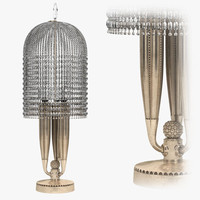 3d lamp artdeco designer