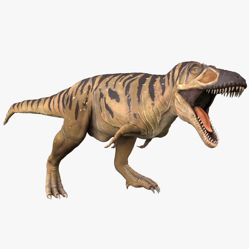 tarbosaurus pose 2 obj