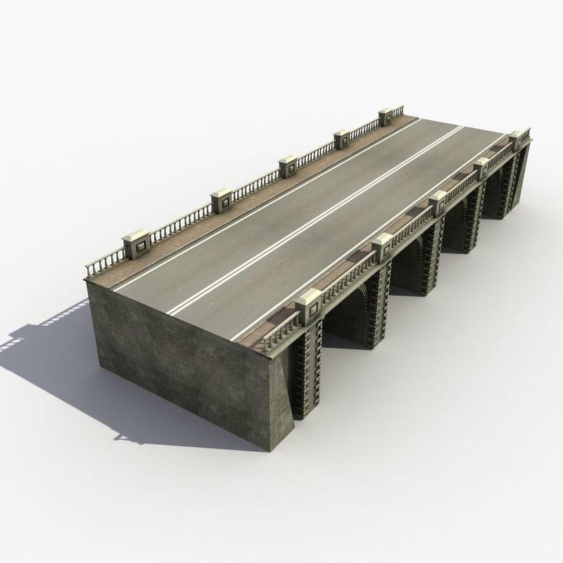 bridge set 3d model