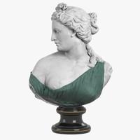 Aphrodite Kallipygos Bust