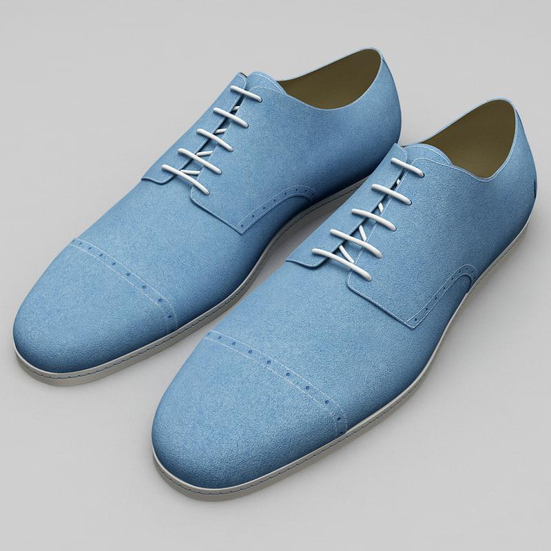 men shoes fred perry 3d c4d