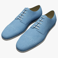 men shoes fred perry 3d c4d