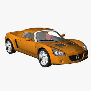 opel speedster 2005 3d lwo