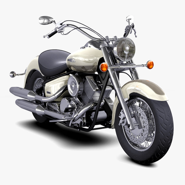 Yamaha Dragstar 1100 Classic Modelo 3d Turbosquid 639532