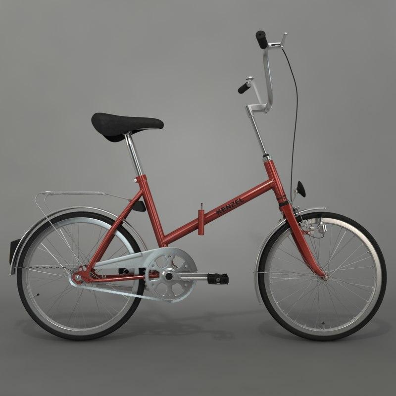 3d max kenzel bike