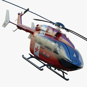 3ds max eurocopter ec145