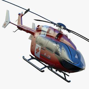 3ds max eurocopter ec145