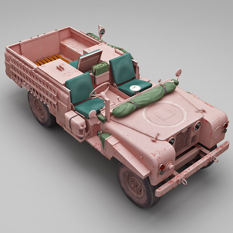land rover s2a sas max