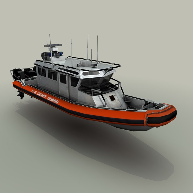 3d coast guard law enforcement model