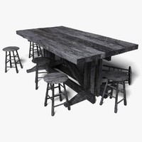 Tavern Table [Low Poly]