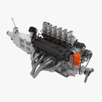 Ferrari V12 Engine (4L)
