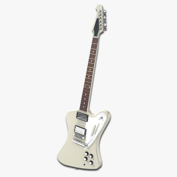 guitar firebird obj