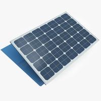 3ds max solar panel