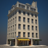 3d old building hd 06