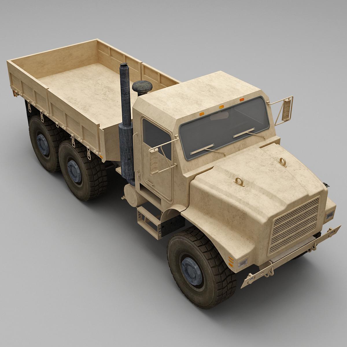 3d model oshkosh mtvr mk23 standard