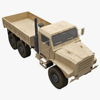 3d model oshkosh mtvr mk23 standard
