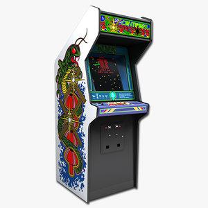 3d 3ds centipede arcade
