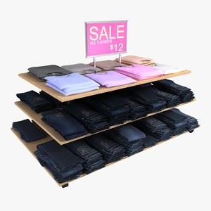 women s jeans table 3d max
