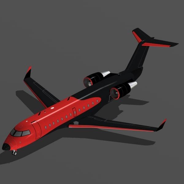 3ds bombardier crj-200 private crj