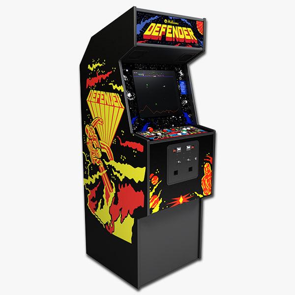 3d defender arcade model