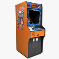 3d donkey kong jr arcade