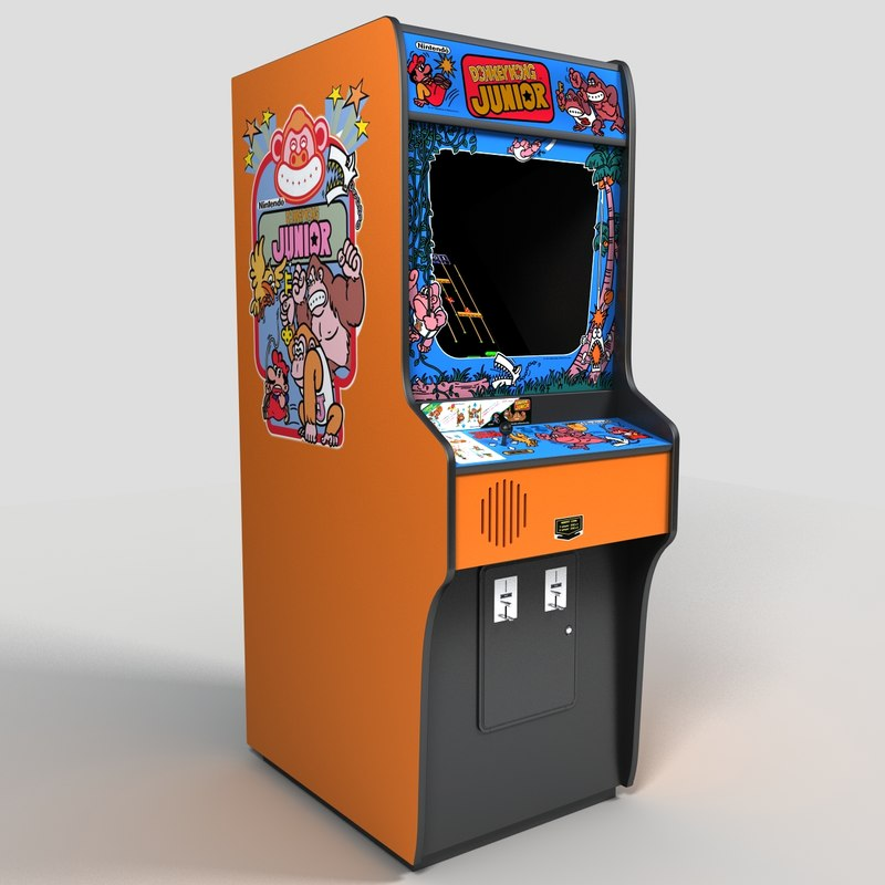 kong jr arcade machine