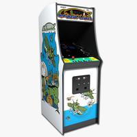 s max galaxian arcade