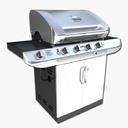 gas grill 3D models