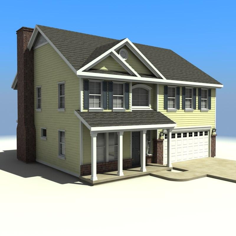house 25 3d model