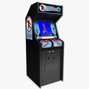 3d karate champ arcade model
