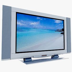 3dsmax lcd tv