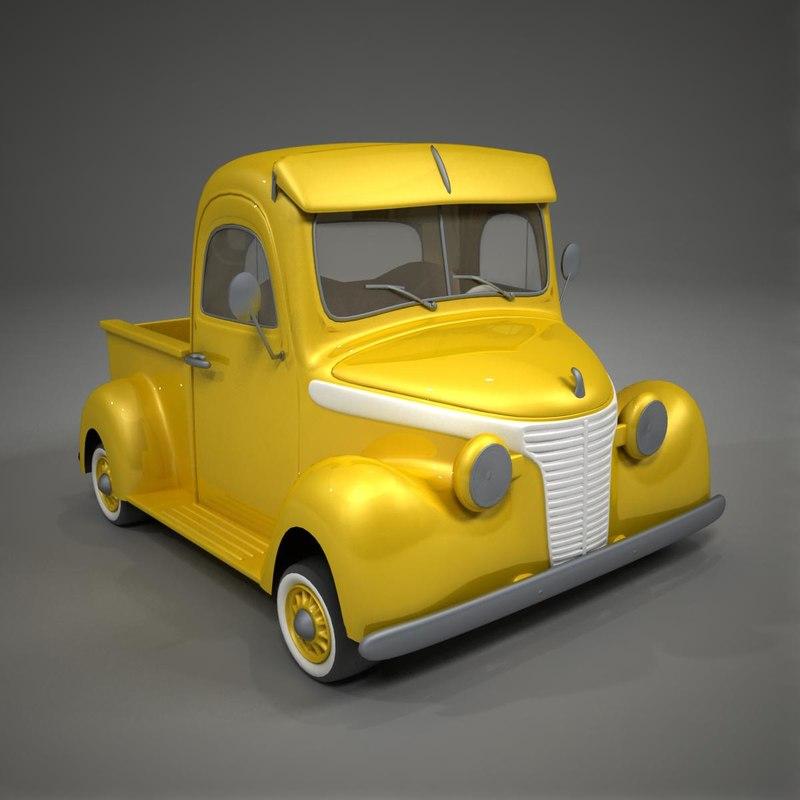 3ds toon car studebaker 1937