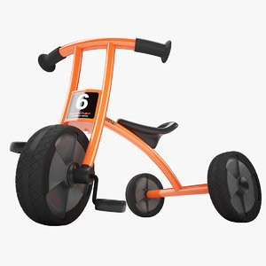winther circleline tricycle 3d model