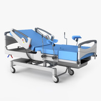 3d delivery bed